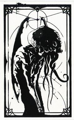 Screen prints done in collaboration with my friend Florian Thomasset (with http:& Cthulhu, Spooky World, Mike Mignola Art, Lovecraftian Horror, Dark Artwork, Fantasy Illustration, Art Illustrations, Steampunk, Dark Fantasy Art