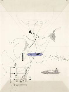 Untitled (Bomb) - by Julie Mehretu, 1999 Abstract Drawings, Art Drawings, Women Artist, Art Studies, Map Art, Contemporary Paintings, Les Oeuvres, Illustration Art, Fine Art