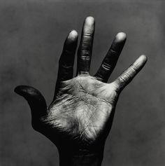 Miles Davis Hand 4/4 Photo Irving Penn 1986