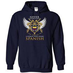 Colombia - speak Spanish-bghbgeknmi - #white shirt #shirt style. BEST BUY => https://www.sunfrog.com/LifeStyle/Colombia-woman-speak-Spanish-bghbgeknmi-NavyBlue-17749528-Hoodie.html?68278