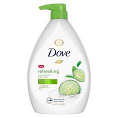 Dove Go Fresh, Dove Body Wash, Perfume, Body Soap, Body Lotion, Green Tea Extract, Shower Gel, Shower Foam, Skin Care