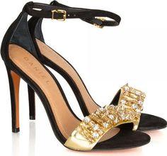 Sultry Womens Black Leather Heeled Sandal #Sandals #Daniel Footwear #fashion #obsessory #fashion #lifestyle #style #myobsession