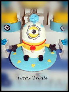 minion baby , baby shower cake
