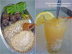 Fong's Kitchen Journal: Barley Drink (薏米水)