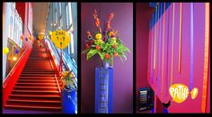 Pathe Delft   Ballonnen, filmrol, bloemen, linten, kleuren, feestelijk, decoratie, aankleding, balloons, flowers, colourful, decoration, cinema