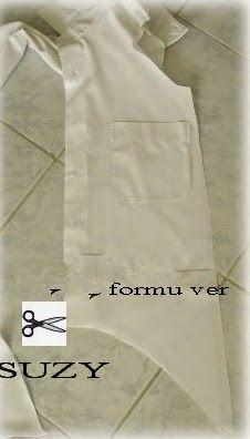 yo elijo coser: Copiar una blusa de Asos con una camisa de hombre