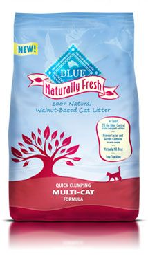 Sim[ly the best cat litter ever. The secret ingredient is walnut shells. It is an incredibly effective odor-neutralizing agent that is both biodegradable and renewable. No dust, no tracking.