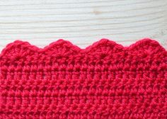 Stitch of the Week: Crochet Shell Edge – Deramores