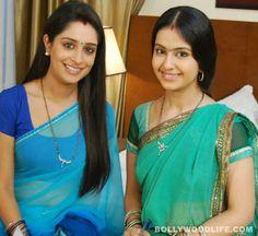 Avika Gor with Deepika Samson