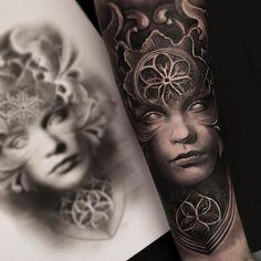Start of a new Sleeve, cant wait to continue! Done at @zoitattoocph. Powered by @silverbackink and @inkeeze #inkedmag #sullentv #sullenclothing #tattoorealistic #cheyennetattooequipment #bnginksociety #thebesttattooartists #thebesbngtattooartists #inksav #inkeeze #inkfreakz #inkjunkeyz #skinartmag #tattooistartmag #savemyink #silverbackink #tattoolifemagazine #tattoodo