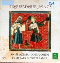 Troubadour songs - 3 CD-a: CD1:Lo Gai Saber:troubadours at jongleurs 1100-1300 ; CD2:Le Four sur le Pont:Chausons de Troubadour; CD3:Provence mystique:sacred songs of the middle ages