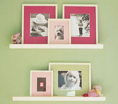 Ideas of how to bring in color if I do all white frames on white shelves
