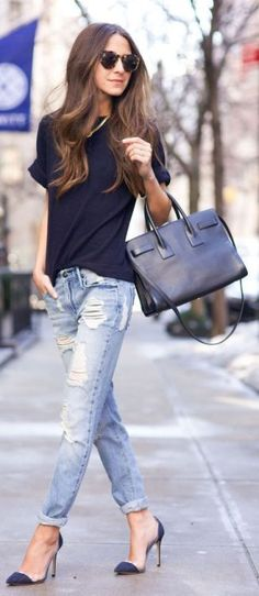 Street Fashion, Style & Outfits Source: fashionclue.net