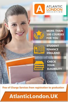 Are you interested in studying Accounting, IT, Bussiness and Marketing, Health and Social Care Management, and many more?  The 100+ courses that we offer are funded (including maintenance loans).  Our aim is to help you secure a place on the course you wish to apply for.   Take the first steps now for a better future!  You can check wether you are eligible or not here:  AtlanticLondon.uk London University, Going To University, Windshield Cleaner, Tesla Lighter, Study In London, Thai Pants, University Courses, Recruitment Agencies, Daguerreotype