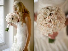 dusty Pink blush Vintage Glamour Wedding