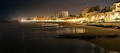 The Beautiful Rota, Spain at night