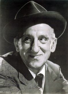 "Jimmy Durante- The Great Schnozzola  ""Good night, Mrs. Calabash,wherever you are."""