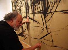 Gabriel Macotela, 40 años en el arte Mexican Artists, Gabriel, Painting, Artist Studios, Mexican Art, Murals, News, Archangel Gabriel, Painting Art
