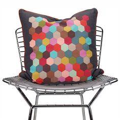 Honeycomb Decorative Pillow - Final Sale at Layla Grayce