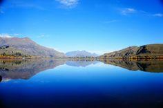 Espectacular lago en New Zealand