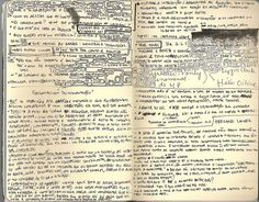 moleskine  juliana veloso  Remember to sometimes encircle when you work with large chunks of text.