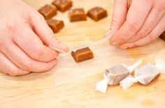My go to recipe for salted caramels    Homemade Salted Caramels — Punchfork