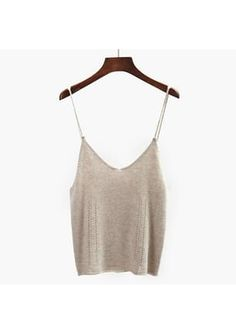 Shop the Knitwear Edit sale for a limited time only Knitwear, Camisole Top, Beige, Tank Tops, Knitting, Casual, Shopping, Women, Fashion