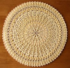 Expressive doily by Mary Werst