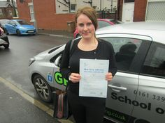 22/03/2017 Well Done to Sarah Bradshaw, a first time pass. Sarah finally passed her test today after having the test cancelled three weeks ago because there wasn't an examiner available. You will soon get used to to driving without me moaning at you. Drive safely Sarah.