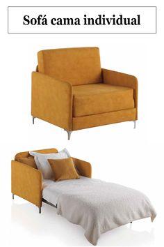 Sofa Cama Individual, Flexible Furniture, Unique Furniture, Spare Room Office, Convertible Furniture, Sofa Bed Design, Elegant Sofa, Minimalist Furniture, Living Room Tv
