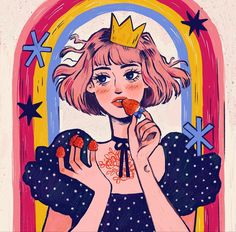 King Queen, Digital Art, Drawings, Anime, Instagram, Sketches, Cartoon Movies, Anime Music, Drawing