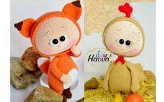 Вязаная игрушка. Бонни. Крючком. Описание Crochet Animal Amigurumi, Amigurumi Toys, Knitted Dolls, Crochet Dolls, Elephant Pattern, Easy Crochet Patterns, Doll Crafts, Cute Dolls, Handmade Toys