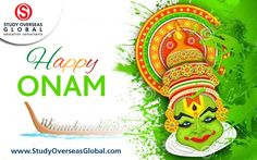 #HappyOnam #StudyOverseasGlobal Wishing all our Malayali friends a very Happy Onam! May your happiness and joy grow year on year.