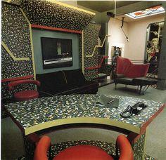 Kitsch-Nitsch 1980's interiors