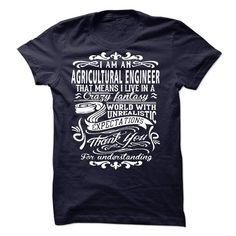 I Am An Agricultural Engineer T Shirts, Hoodie Sweatshirts