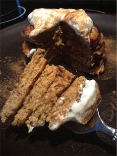 Pumpkin Protein Pancakes ~ Muscle and Fitness Hers