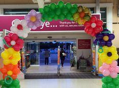 Corporate Events — Artistic Balloon Decor - New Deko Sites Balloon Columns, Balloon Wall, Balloon Arch, Balloon Garland, Balloon Decorations, Table Decorations, Helium Balloons, Latex Balloons, Balloon Display