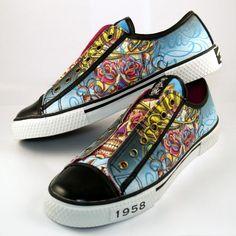 Christian Audigier Women Lowrise Shoes 'Lowkey' (38FLK304W) - http://on-line-kaufen.de/christian-audigier/christian-audigier-women-lowrise-shoes-lowkey