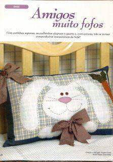 Almofada Coelho com molde
