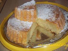 WHIPPED CREAM CAKE.. La torta con la panna montata nell'impasto