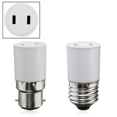 B22/E27 Light Lamp Bulb Adapter Socket Holder Convert to US Power Female Outlet Sale - Banggood Mobile