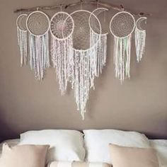 Moon cycle dream catcher
