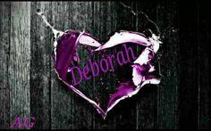 DEBORAH~ PURPLE HEART