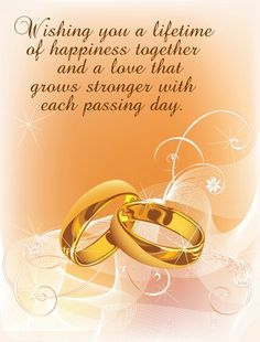 wedding congratulations quotes amp sayings wedding congratulations wedding wishes messages wedding quotes easyday Happy Wedding Wishes, Wedding Wishes Messages, Happy Wedding Anniversary Wishes, Happy Wishes, 2nd Anniversary, Birthday Wishes, Happy Birthday, Aniversary Wishes, Happy Weding
