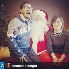 Funniest Christmas Picture this year via Eugene Cho! #funny #christmas #picture