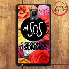 5 Second Of Summer Roses Samsung Galaxy Note Edge Case
