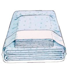 Never lose a pillowcase again! Here's how: If the clean set isn't going directly onto a bed, fold and stash it in one of the pillowcases to keep everything together.