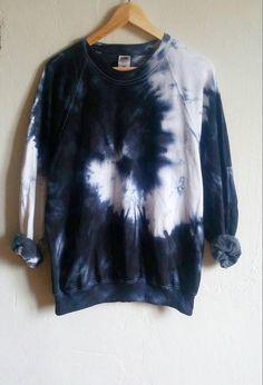 La camiseta tie-dye negro serpiente tumblr grunge hipster
