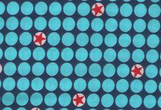 BubbleMiniStar blau von Farbenmix (Popeline) - Für Gitarrenrassel