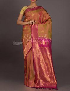 Nalini Dual Shaded Splendid Real Zari #GadwalSilkSaree